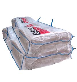 Asbest-Plattenbags-Detailansicht